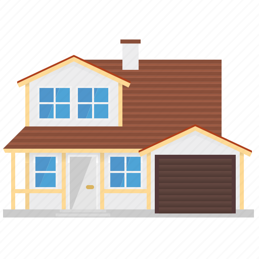 architecture, building, home, house, suburban, wooden icon