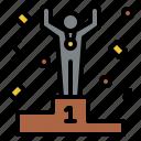 winner, award, competition, success