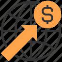 dollar, interface, internet, multimedia, signs, world, worldwide