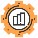 business and finance, cogwheel, configuration, gear, settings, tools and utensils icon