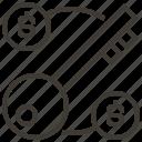 dollar, door key, key, marketing, pass, password, security icon