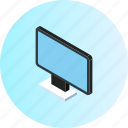 computer, display, hardware, laptop, monitor, network, technology icon