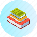 books, education, knowledge, laboratory, learning, science, university icon