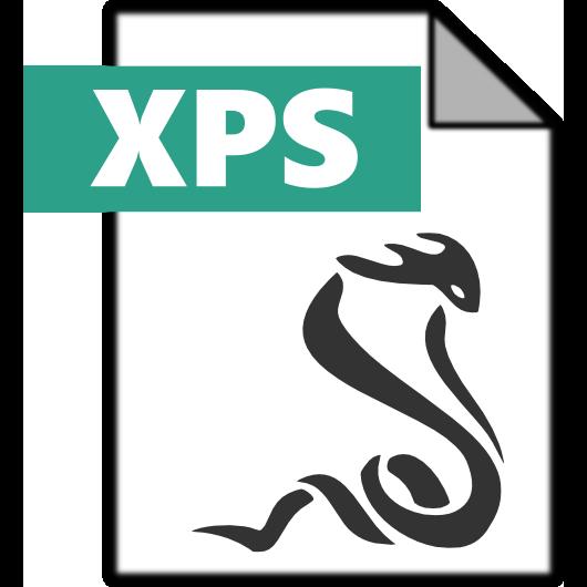 sumatrapdf, xps icon