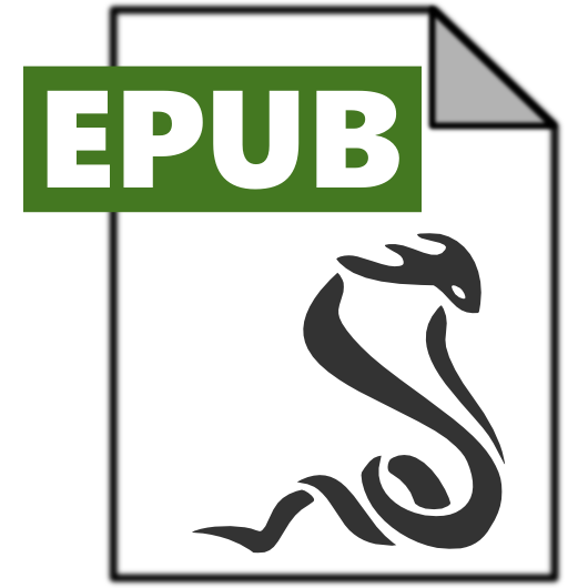 epub, sumatrapdf icon