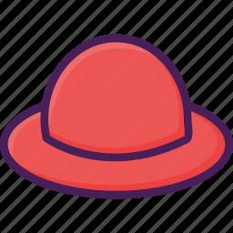 beach, fashion, hat icon