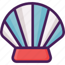 beach, fish, shell, shellfish, summer icon