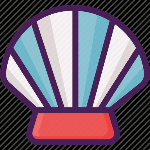 beach, fish, shell, shellfish, summer icon