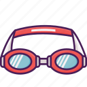 dive, goggles, holiday, pool, swim icon