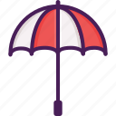 rain, summer, umbrella icon