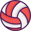 activity, ball, beach, game, sport, volley icon