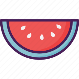 fruit, seed, summer, watermelon icon