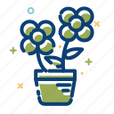 flowers, furniture, leave, nature, summer icon