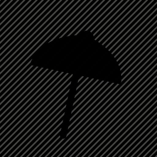beach, rain, shade, sumer, umbrella icon