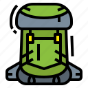backpack, bag, camping, travel icon