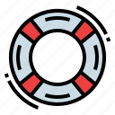 help, lifebuoy, lifeguard, safety icon