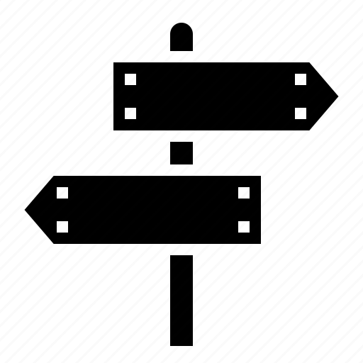 pointer, road, signpost, street, way icon
