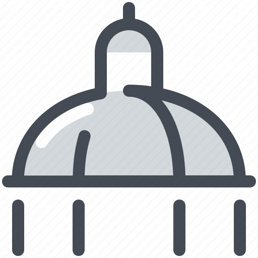 arhitecture, cathedral, church, dome icon