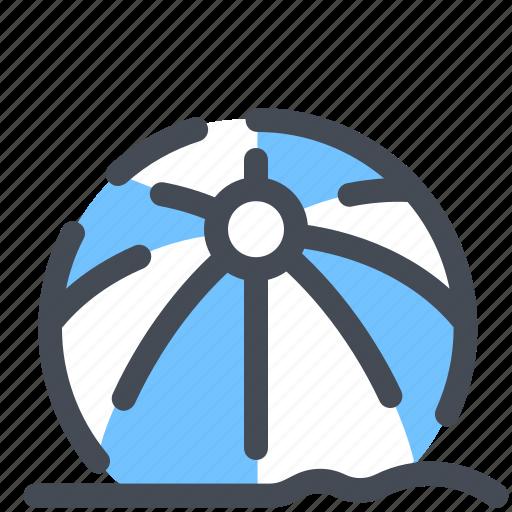 Ball, beach, games, sand, summer icon - Download on Iconfinder