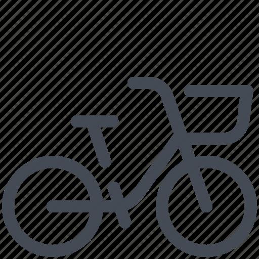 basket, beach, bike, cruise icon