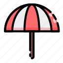 protection, rain, summer, umbrella icon