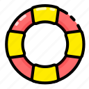 buoy, float, safety, summer icon