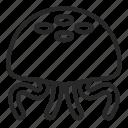 animal, creature, jellyfish, ocean, sea, summer icon