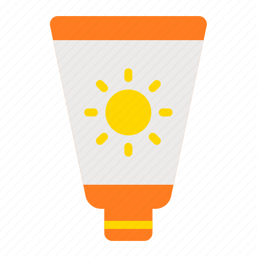protection, skin products, skincare, summer, sunscreen icon