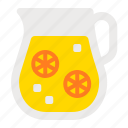 beverage, drink, juice, lemonade, summer, water icon