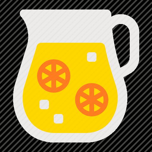 beverage, drink, juice, lemonade, summer, water icon