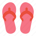 beach, flip floaps, footwear, pool, sandals, shoes, summer icon