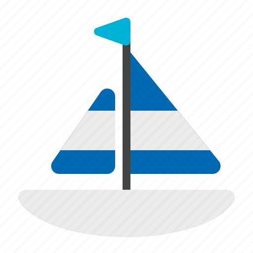 beach, boat, ship, sports, summer icon
