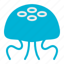 animals, jellyfish, nature, orcean, sea, summer icon