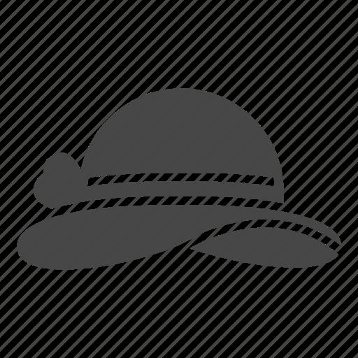 beach, hat, summer icon