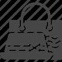 bag, hat, summer, travel, travel bag icon
