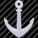 anchor, boat, holiday, ocean, sea, travel, vacation icon