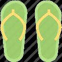 beach, flip, flops, footwear, sandels, shoe, summer icon