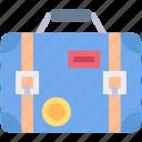 baggage, luggage, holiday, bag, travel, suitcase icon
