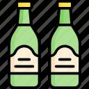 cold, beer, drink, beverage, bottle, summer