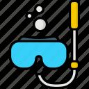 diving, goggles, leisure, scuba, snorkeling, snorkel, travel