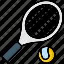 racket, sport, tennis, tennis ball