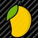 food, fruit, mango, organic, vegan, vegetarian