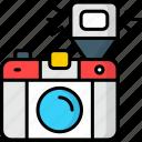 camera, flash, photograph, photography