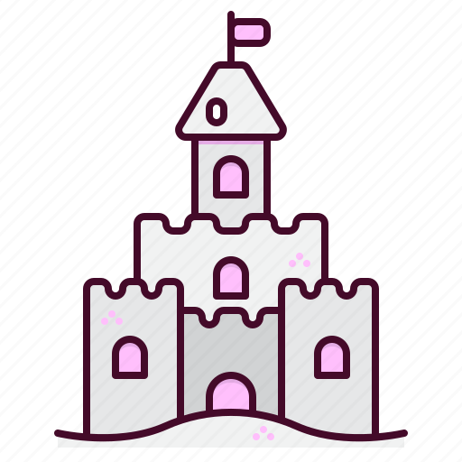 Sand, castle, beach, summer, tourism, vacation, holiday icon - Download on Iconfinder