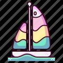 boat, ship, cruise, summer, tourism, vacation, holiday
