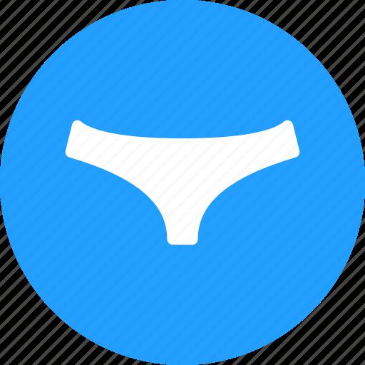 clothing, summer, underwear icon