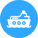 boat, ship, watercraft, yacht icon