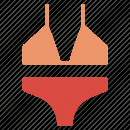 Bikini, pool, sea, sexy, summer, swim, woman icon - Download on Iconfinder