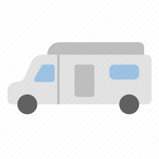 car, caravan, house, roadtrip, summer, travel icon