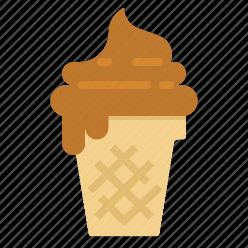 Cone, cream, delicious, ice, summer icon - Download on Iconfinder